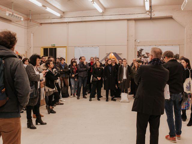 Lancement de Chantiers Communs 2019 au Pavillon © Cécile Schuhmann