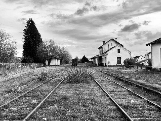 Gare de Mauriac © L'Établi